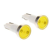 2x T5 COB 0.5w HIGH POWER DashBoard Super White Interior LED bulbs light