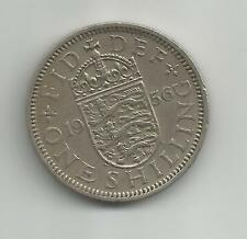 UK 1956 ENGLAND one shilling COIN circulated - suit birthday, anniversary etc