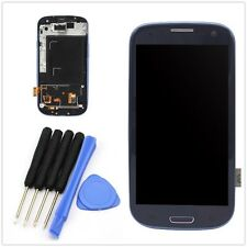 BLU Per SAMSUNG GALAXY S3 i9300 Completo LCD Digitalizzatore Touch Screen Frame