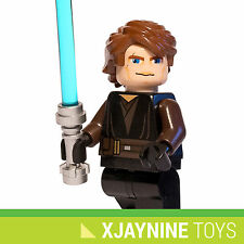 NEW LEGO STAR CLONE WARS Anakin Skywalker Minifig 7957 Season 3 Costume