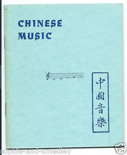 1941 Pocket Book - CHINESE MUSIC - H.T. Morgan, Quon-Quon Company