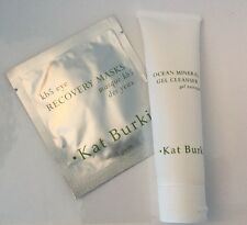 Kat Burki Ocean Mineral Gel Cleanser 2oz/ 60ml New Sealed + Bonus Eye Mask New