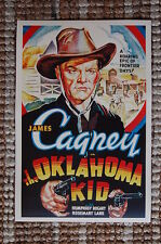The Oaklahoma Kid Lobby Card Movie Poster Western James Cagney
