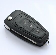 GENUINE FORD FOCUS, S-MAX C-MAX ETC 3 BUTTON REMOTE KEY FLIP FOB AM5T15K601AD