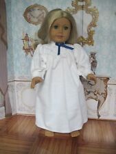"Handmade Kirsten nightgown for American Girl or other 18"" dolls"