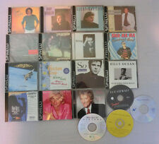 Lot of 19 CDs Rock Pop Singers 70s 80s Music Hits