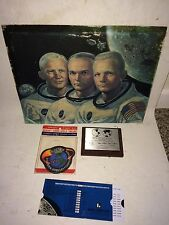 Vintage NASA Apollo,Moon,Patch,Space Shuttle,Diecast,Postcard,Booklet,Pencil Bag