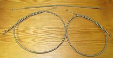 1956 CHEVY HEATER CONTROL CABLE SET , NEW