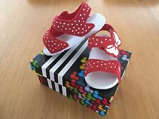 Adidas Disney Minnie Mouse Rojo Sandalias UK5 1/2 K