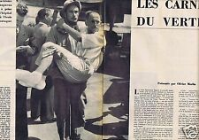 Coupure de presse Clipping 1956 Louis Lachenal   (6 pages)