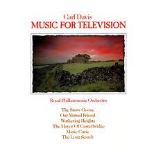 Carl Davis - Music for Television - Soundtrack LP