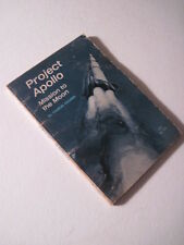 Project Apollo, Mission To The Moon! 1967 Vintage Paperback! NASA gemini