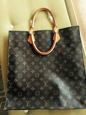 Louis Vuitton Sac Plat Tote Bag Monogram