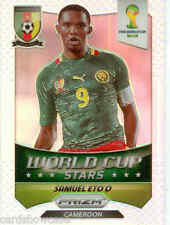 2014 World Cup Prizm Refractors World Cup Stars No.9 S. Eto'o (CAMEROON)