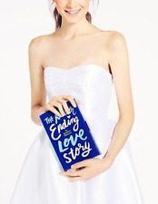 Kate Spade 'Emanuelle' Never Ending Book Of Month Clutch Blues  $328  PXRU4815