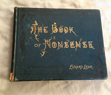 Edward Lear - The Book of Nonsense - Twenty Fifth Edition - Frederick Warne