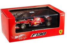 Hot Wheels Ferrari F138 Formula F 1 2013 1:43 Diecast Fernando Alonso BCK16