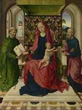 Workshop Of Dirk Bouts The Virgin And Child With Saint Peter And Saint Paul A3 B