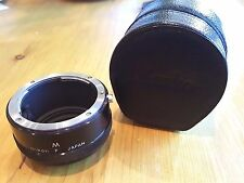 Genuine Nikon Nikkor M extension tube for 50mm f/3.5 Micro Nikkor F NAI