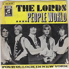 "Single 7"" The Lords ""People World/Four O´clock in new york"""