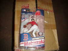 MCFARLANE MLB 28**DAISUKE MATSUZAKA**COLLECTOR LEVEL**RED REDSOX  JERSEY**QQ