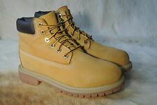 Timberland 12909M boy's youth wheat/tan Suede premium water proof boot sz 2