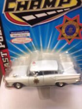 Road Champs 1:43 scale 1957 Ford Colorado State Patrol MIP