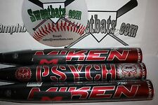 New Miken Psycho Balanced 34 28 SPSYBA HOT softball bat NIW 2014 Rare ASA 750X