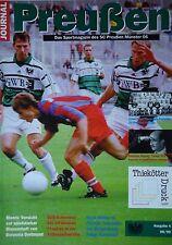 Programm 1998/99 SC Preußen Münster - Borussia Dortmund Am.