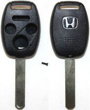 New Remote Key Keyless Replacement Case 3 Button + Panic Shell/Case For Honda