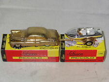 Schuco Piccolo BUICK WITH BOAT & TRAILER LIMITED GOLD EDITION  1/90 SCALE