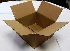 x100 200x200x125mm Corrugated Cardboard Packing Posting Boxes Double Wall Strong