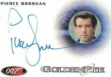 James Bond 50th Ann.Serie 1 (2012): A189 Pierce Brosnan autograph