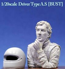 "Model Factory Hiro 1/20 ""Dive Nine"" Figure Series - Driver Type A.S Bust"