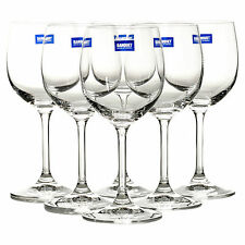 Bistro by Banquet Crystal Red Wine Set of 6 Glasses Dinner Gift Box