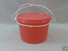 "Tupperware Canister ""Best Easter Basket"" Snacks Cariolier Handle Candy 14 Cup"