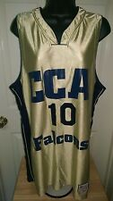 College Lane Covenant Christian Academy Falcons #10 Basketball Jersey Size L/XL
