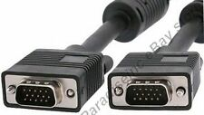 Lot20 10ft SVGA/VGA Male-M Monitor/LCD/TV/HDTV/Projector Cable/Cord{4xShield