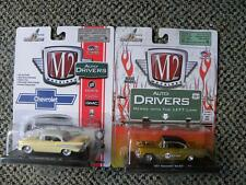 1957 CHEVROLET BEL AIR        CASTLINE M2 MACHINES AUTO-DRIVERS     1:64 LOT