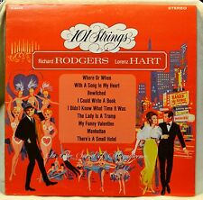 101 Strings Rodgers & Hart LP Pop Mood Instro NM Vinyl Bewitched Lady is a Tramp