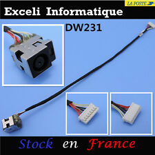 Connecteur dc power jack socket and cable wire DW231 HP compaq Presario CQ62