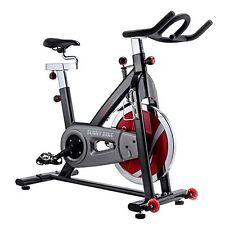 SUNNY HEALTH & FITNESS Indoor Cycling Bike, Belt Drive Exercise INDOOR BIKE,Grey