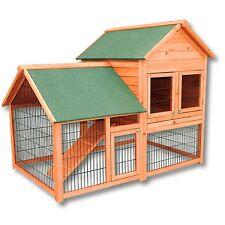 Poulailler / Clapier / Cage à lapin XXL en bois / Cabane pour lapin ou poule