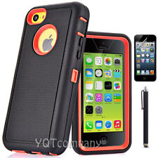Defender Heavy Duty Dirtproof Shockproof Protective Case Cover for iPhone 5C