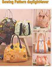 Purse Backpack Totes Cosmetic Bag Sewing Pattern 8037 Simplicity New 5 Styles n