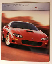 2000 Chevy Camaro Brochure - Must See !! - 34 pages - SS + Z28