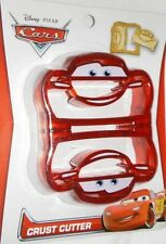 Cars Lightning McQueen Disney Bread Crust Cutter Cookie Sandwich Decruster Lunch