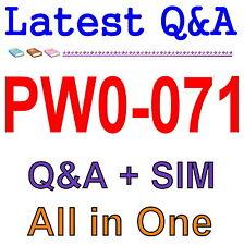 Certified Wireless Technology Specialist - Sales (CWTS) PW0-071 Exam Q&A PDF+SIM