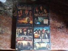 PIRATES OF THE CARIBBEAN COMPLETE SET SERIES COLLECTION SAGA 1 2 3 4     Dvd