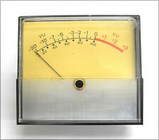 "Vintage Weston 2042 4.5"" x 4"" AC/DC VU Meter #2 w/Cal Resistor, Works Great. VU"